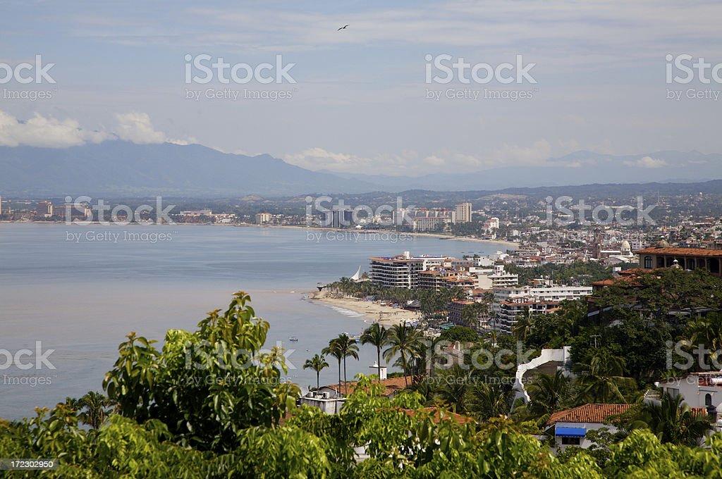 Puerto Vallarta City view royalty-free stock photo