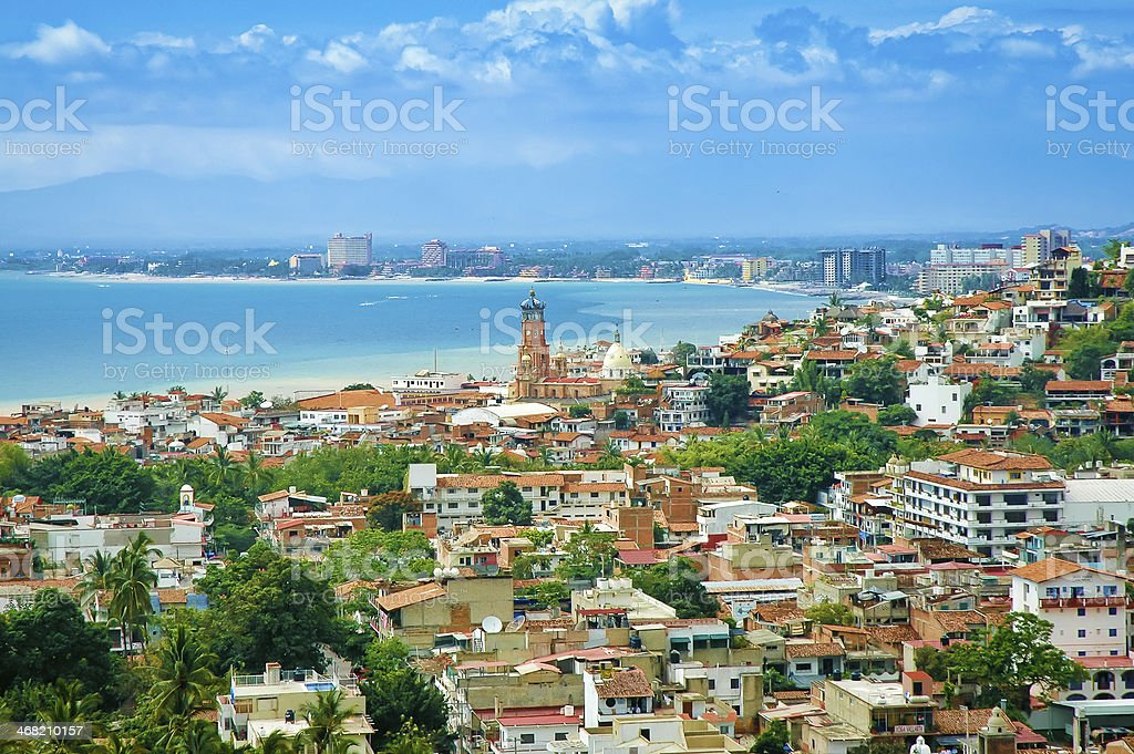 Puerto Vallarta stock photo