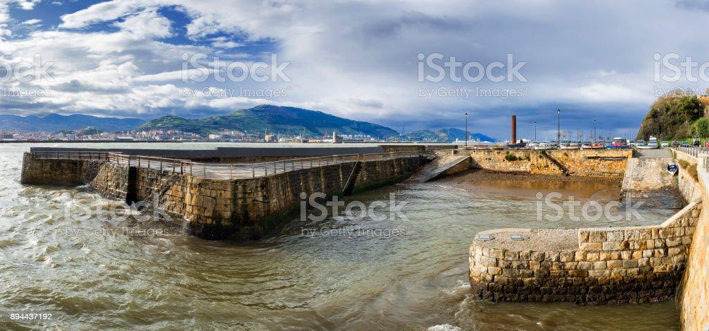 Puerto viejo stock photo