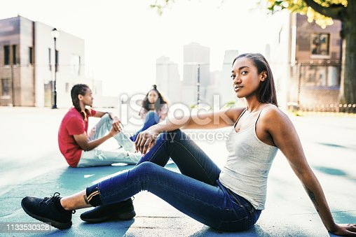 istock Puertorican and African-American youth together 1133530328