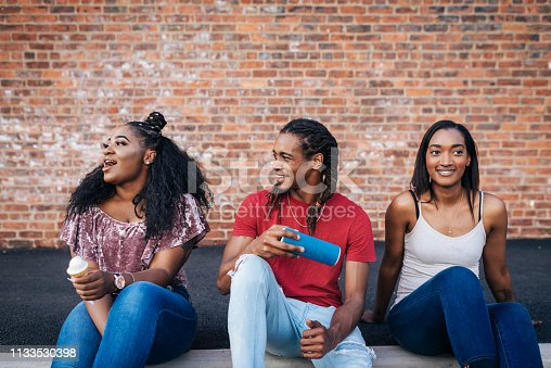 istock Puertorican and African-American youth together 1133530398