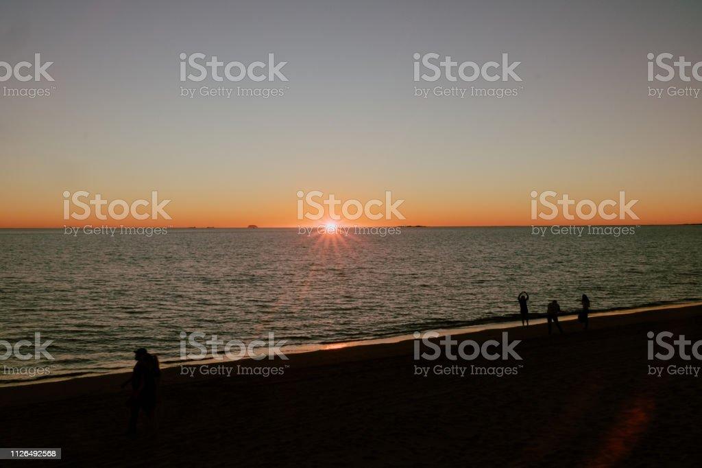 Puesta de sol - foto de stock