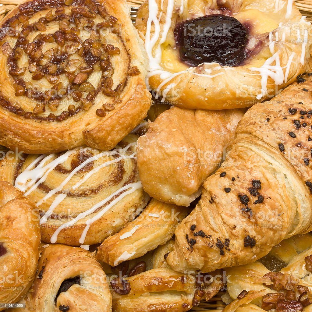 Puff Pastries royalty-free stock photo