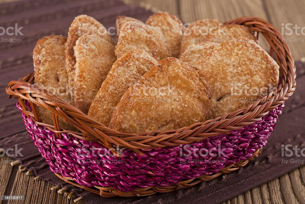 Puff Pastry ( Campechanas ) royalty-free stock photo