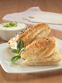 Puff Pastry with cheese filling