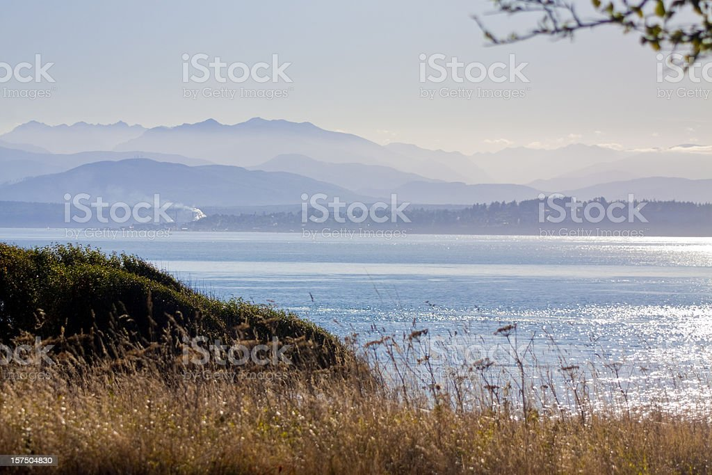 Puget Sound View royalty-free stock photo