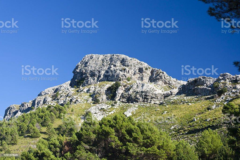 Puig de Massanella, Mallorca stock photo