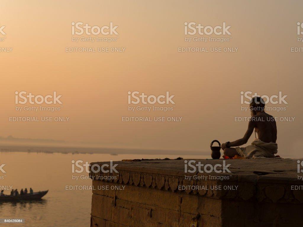 Puja stock photo