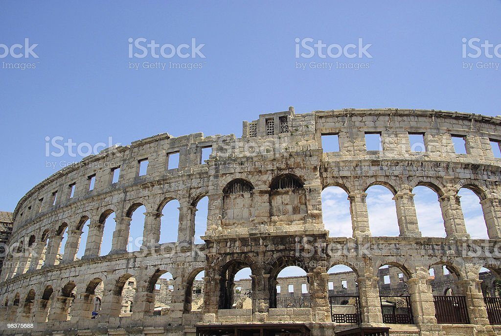 Pula royalty-free stock photo