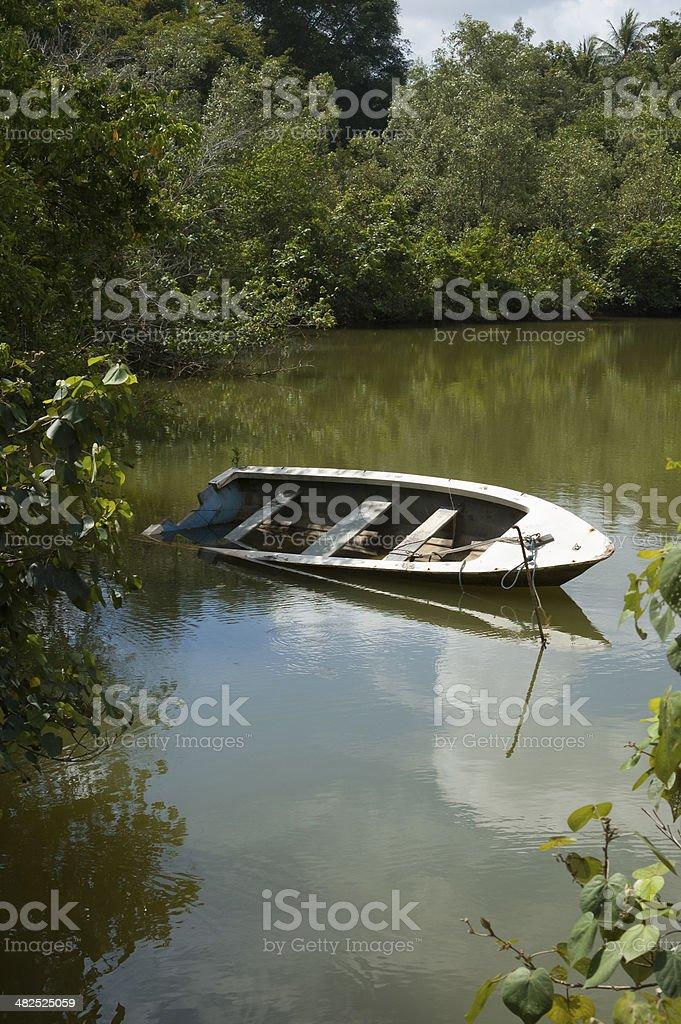 Pulau Ubin royalty-free stock photo
