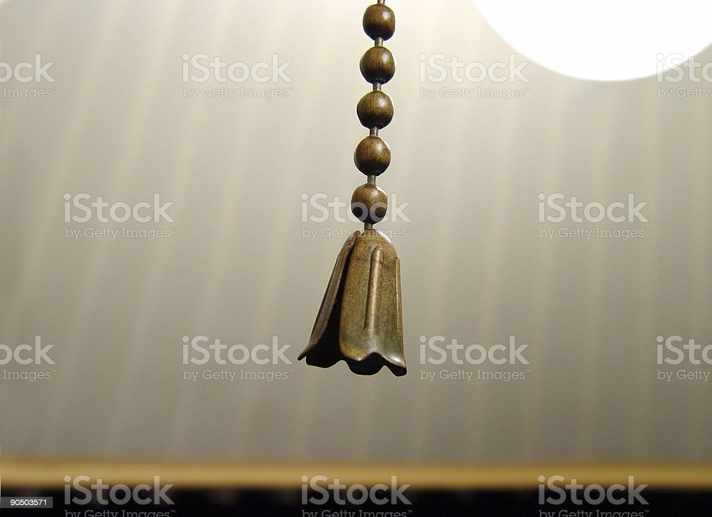 pull chain royalty-free stock photo