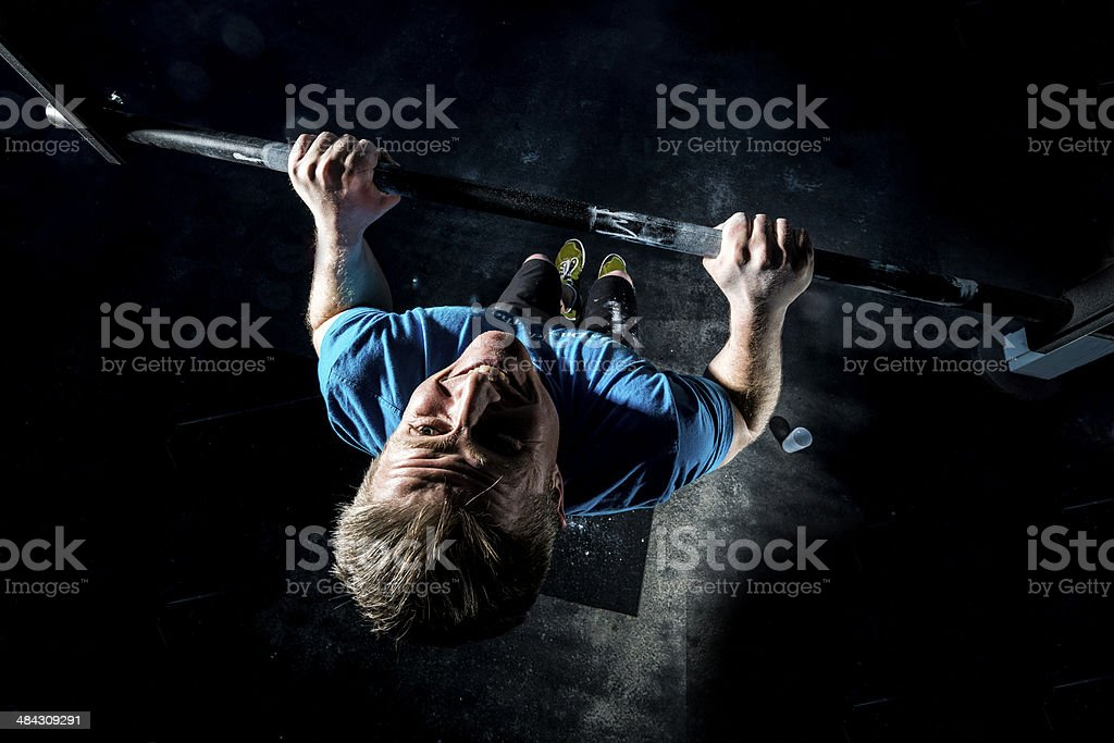 Pull up stock photo