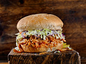BBQ Pulled JACK FRUIT Sandwich