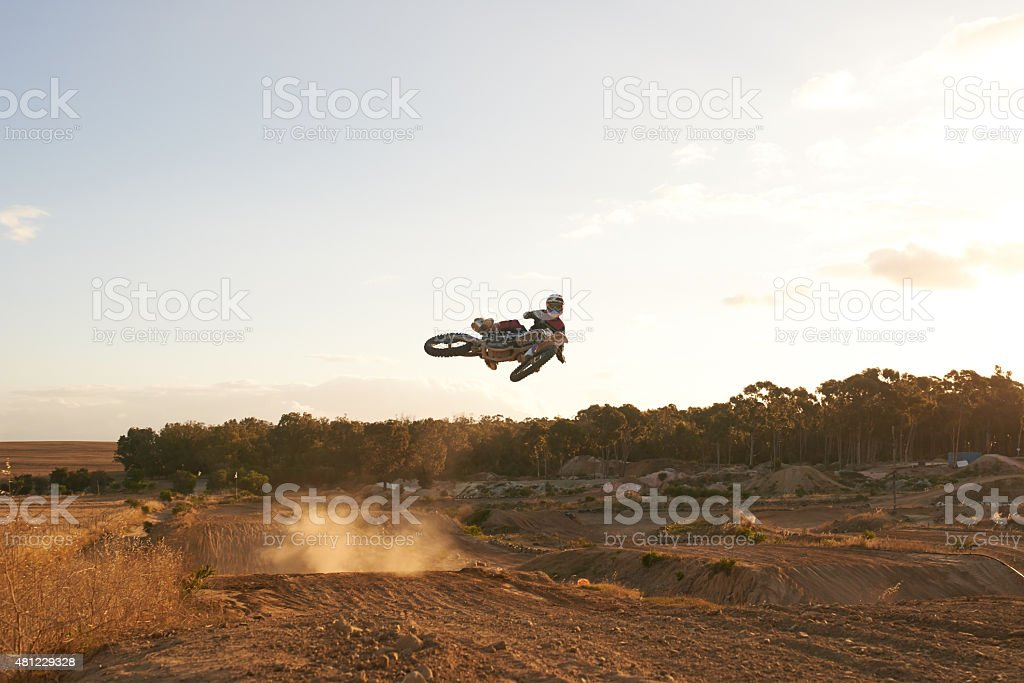 Pulling off a sick trick royalty-free stock photo