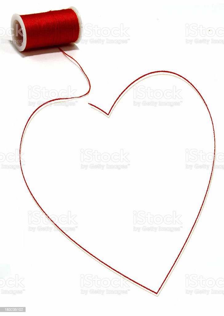Pulling Your Heart Strings stock photo