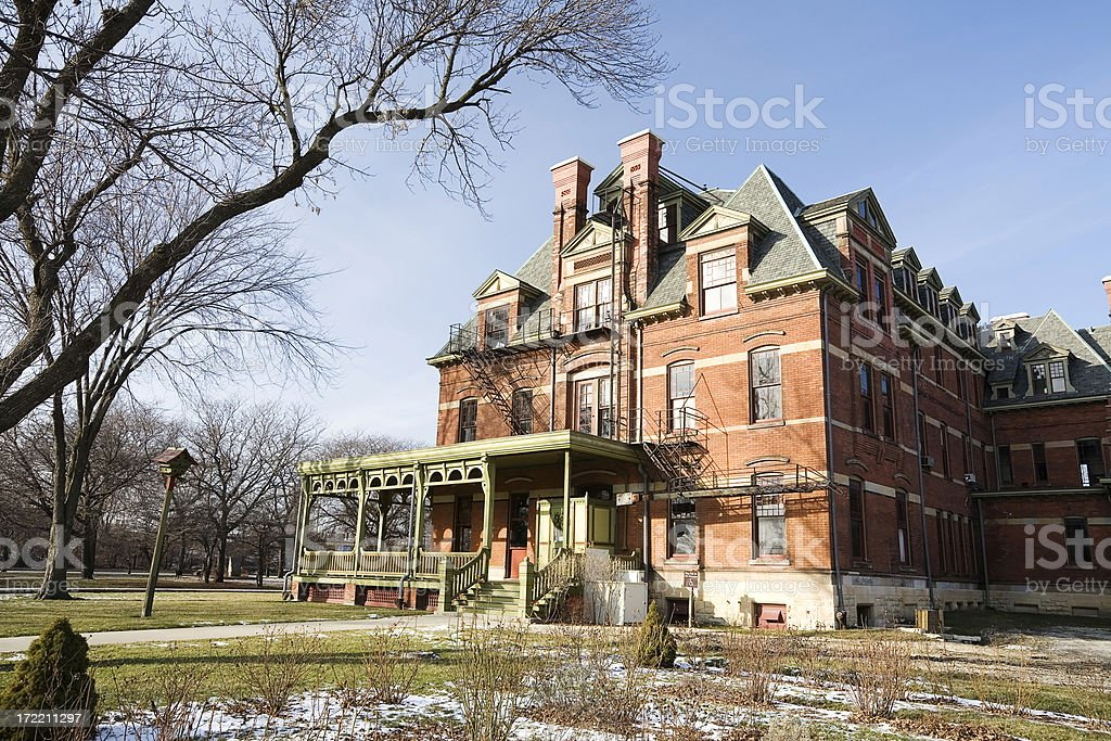 Pullman District Hotel, Chicago royalty-free stock photo