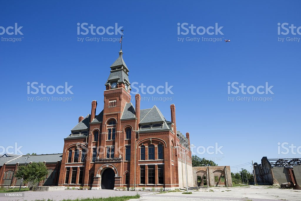 Pullman Factory in Chicago royalty-free stock photo
