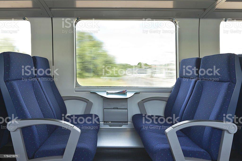 Pullman seats stock photo