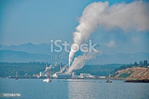 Pulp and paper mill in Port Townsend , Washington