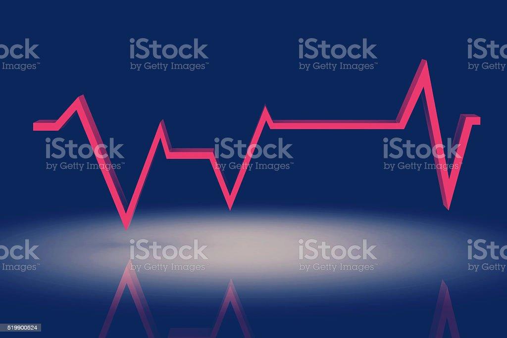 pulse background stock photo