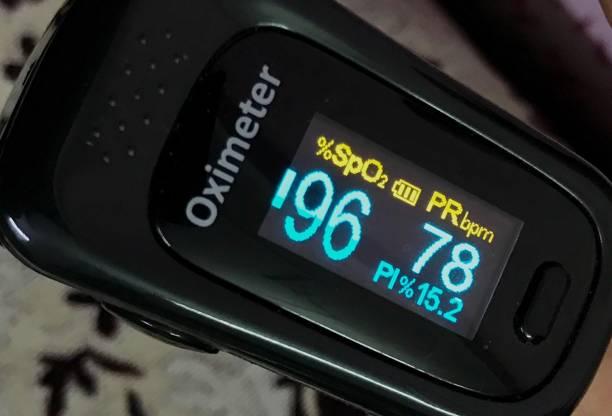 Pulse Oximeter stock photo