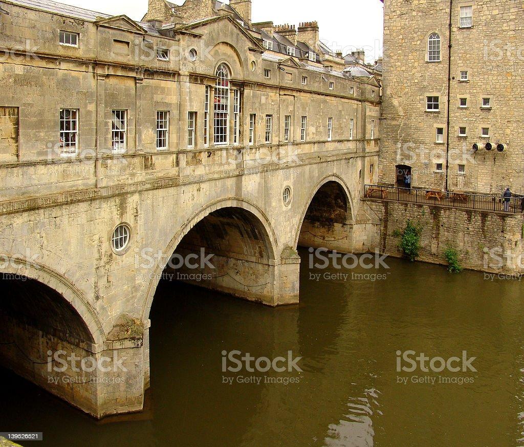 Pulteney Bridge royalty-free stock photo