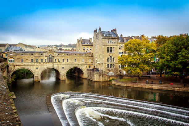 Pulteney Bridge Pulteney Bridge United Kingdom somerset england stock pictures, royalty-free photos & images