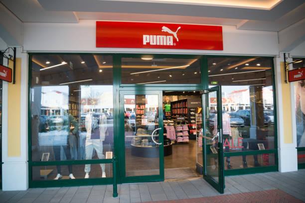 Puma store stock photo
