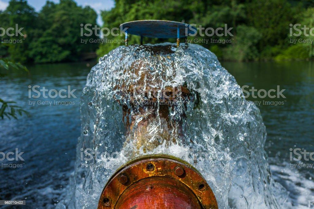 Pumpe im Park in Düsseldorf, Deutschland – Foto