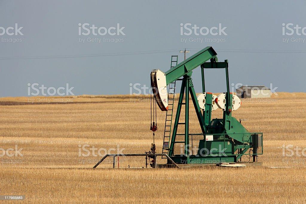 Pump Jack royalty-free stock photo