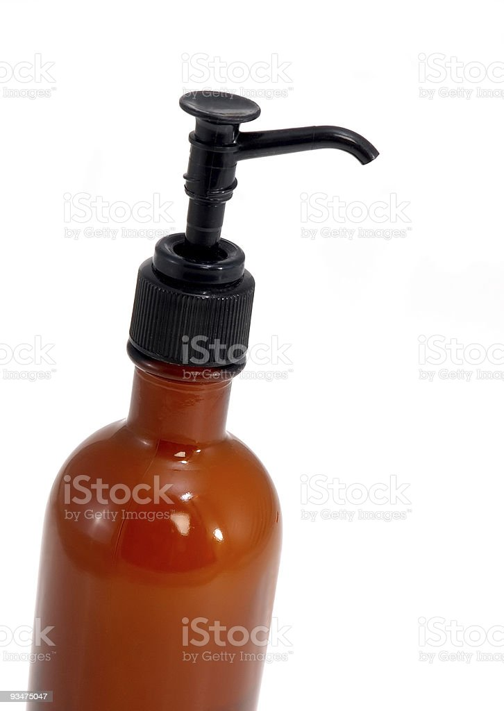 Pump Lotion Bottle royalty-free stock photo