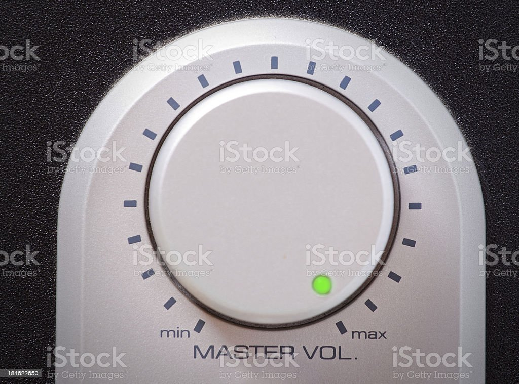 pump up the volume royalty-free stock photo