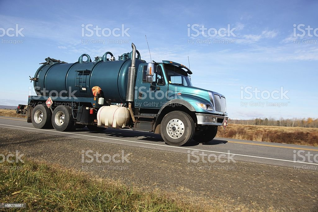 Pumper truck royalty-free stock photo