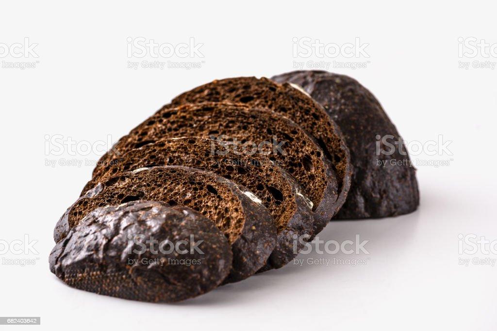Pumpernickel Bread royalty-free stock photo