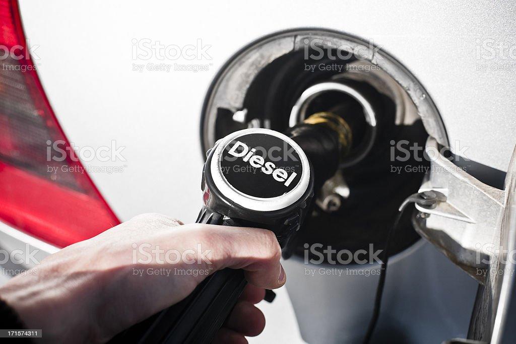 Pumping Gas stock photo