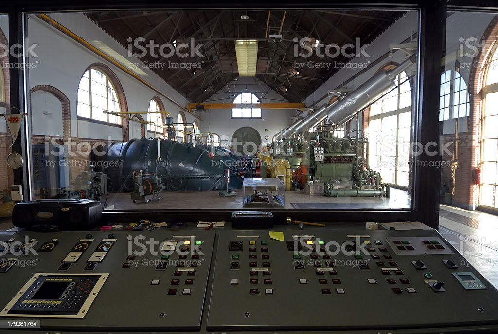 Pumping station Waterwolf 5 royalty-free stock photo