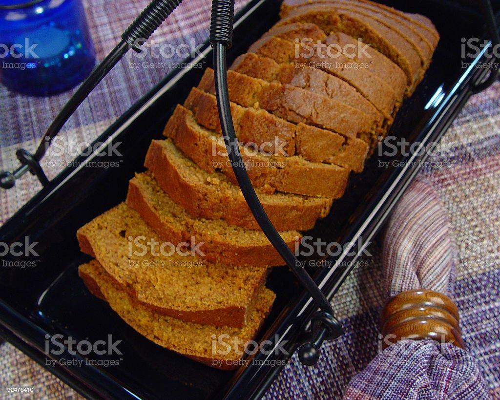 Pumpkin Bread royalty-free stock photo