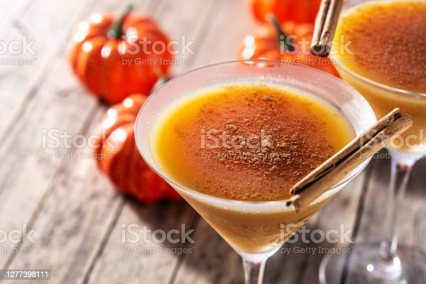 Photo of Pumpkin cocktail in glass