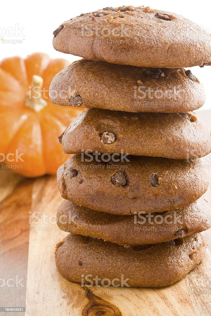 Pumpkin Cookies royalty-free stock photo