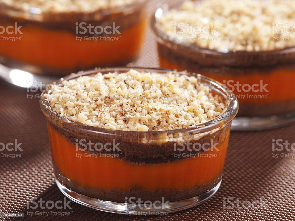 Pumpkin cream royalty-free stock photo