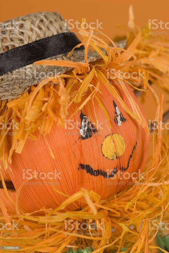 pumpkin doll close-up royalty-free stock photo