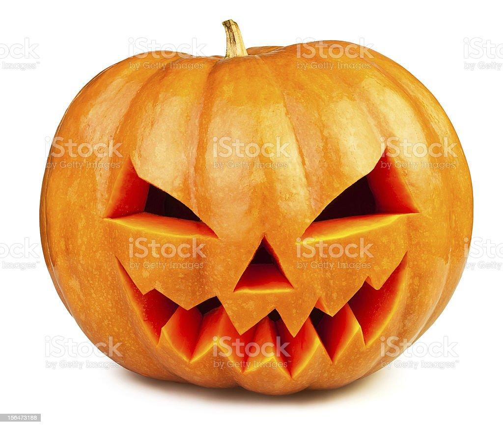 pumpkin halloween royalty-free stock photo
