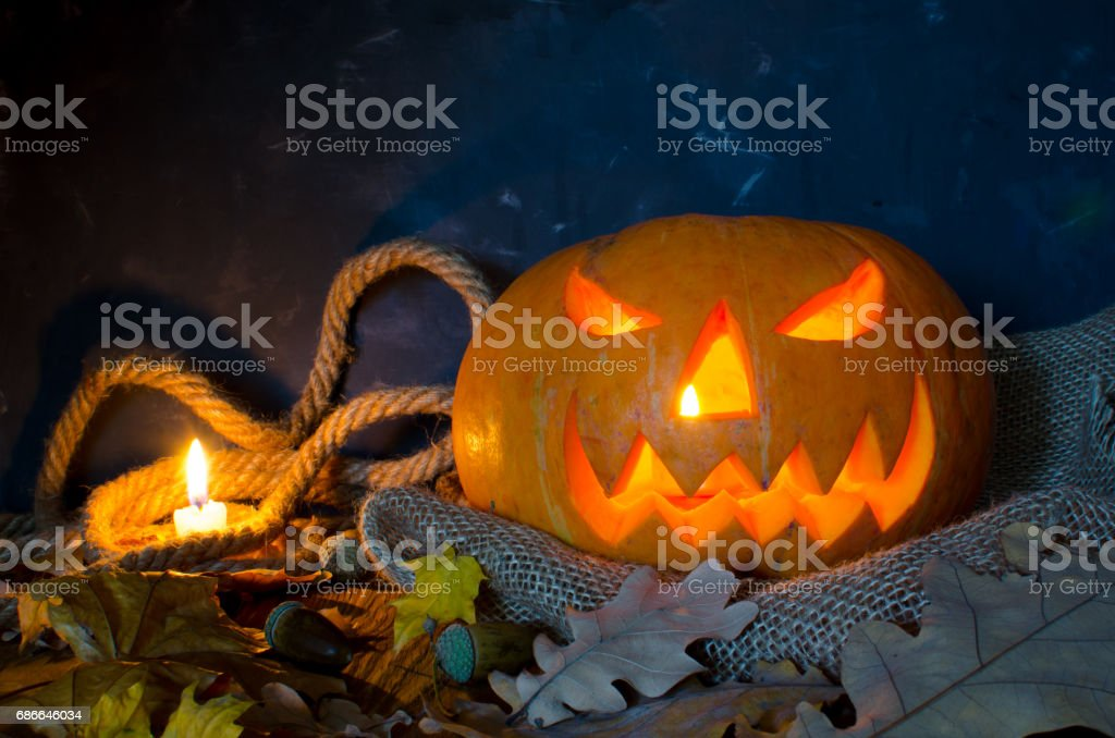 Pumpkin, Halloween symbol royalty-free stock photo