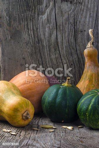 Pumpkin In A Wooden Box - Stockowe zdjęcia i więcej obrazów Bez ludzi