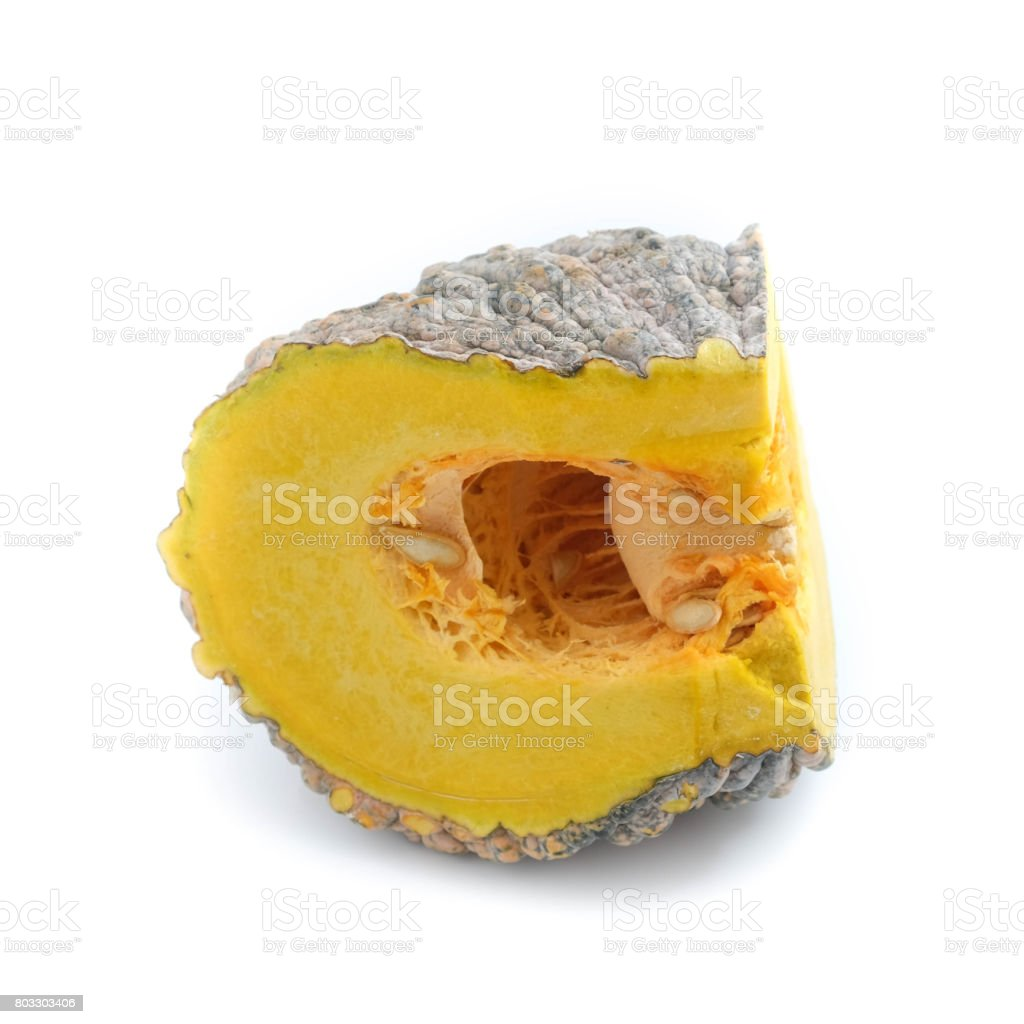 pumpkin isolated on the white background . stock photo