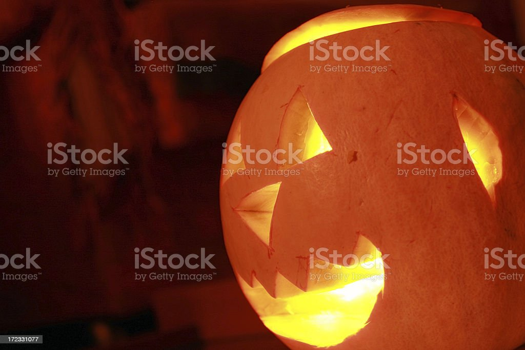 Pumpkin mystery royalty-free stock photo