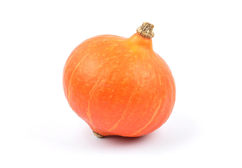 Pumpkin On White Stock Photo - Download Image Now