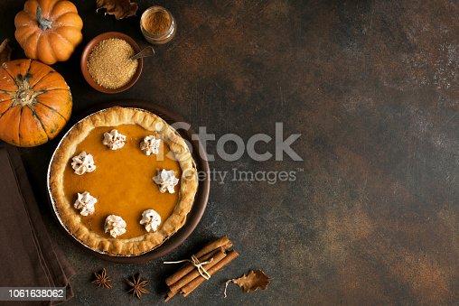istock Pumpkin Pie 1061638062