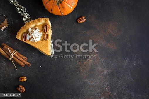 istock Pumpkin Pie 1061638174