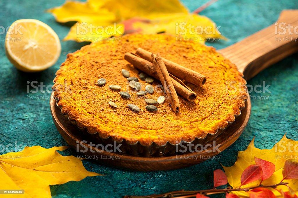 Torta de Abóbora  foto royalty-free